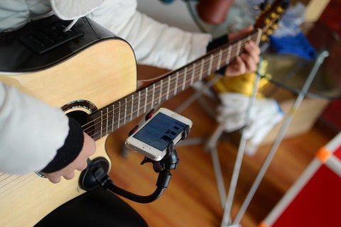 Universal Phone Holder for Guitar | Freaky Inventions