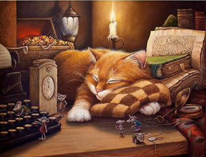 Sleeping Cat VanGogh Kit | Freaky Inventions