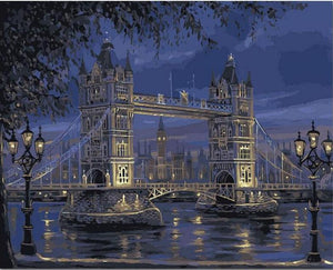 Night Falls over London Bridge VanGogh Kit | Freaky Inventions