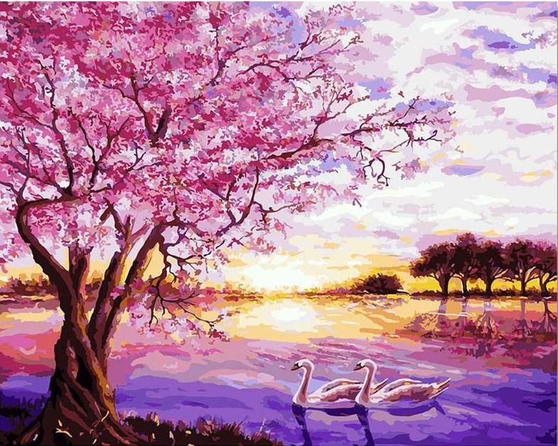 Cherry Blossom in Swan Lake VanGogh Kit | Freaky Inventions