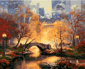 Park Bridge in New York VanGogh Kit | Freaky Inventions