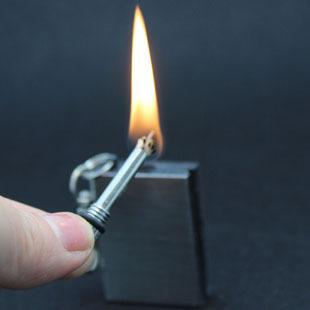 Emergency Waterproof Fire Starter Permanent Match Keychain Tool | Freaky Inventions