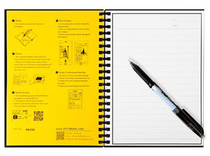 Reusable Smart Wirebound Notebook | Freaky Inventions