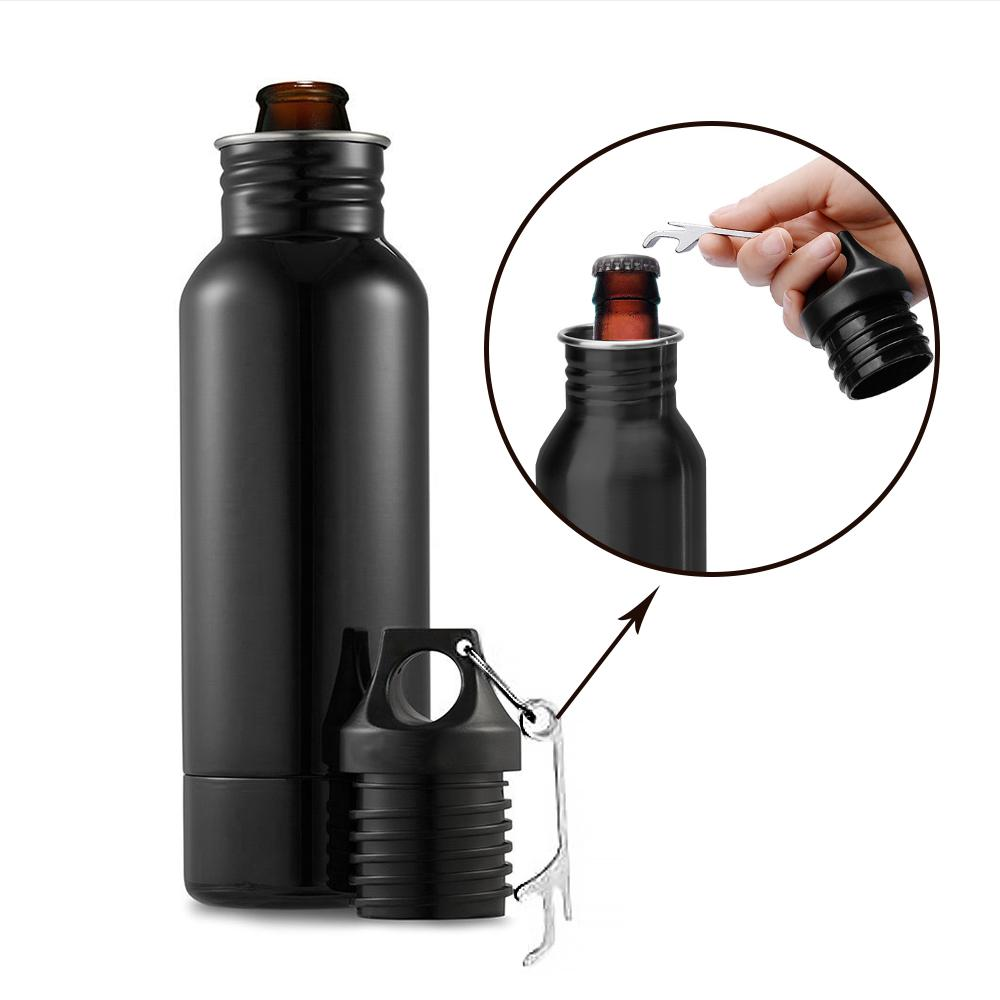 Steel Beer Bottle Insulator | Freaky Inventions