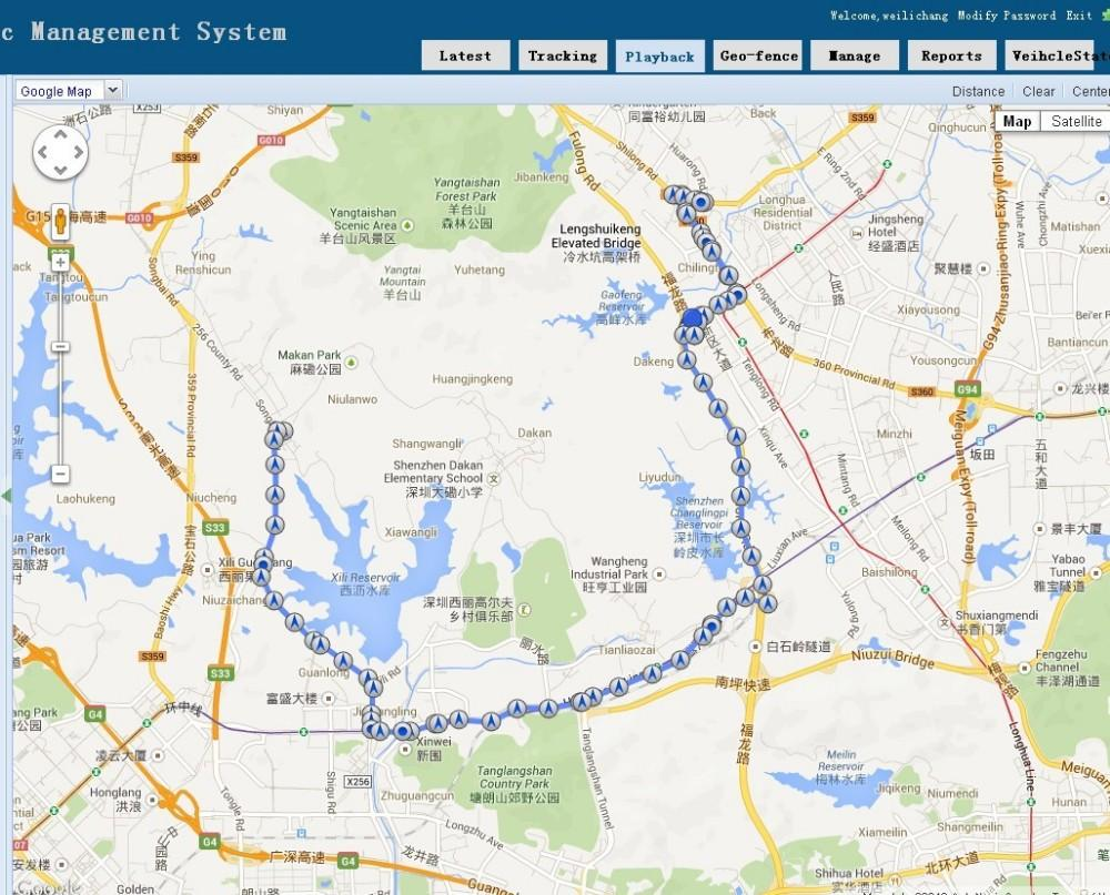 Real time Google LINKed GPS tracker | Freaky Inventions
