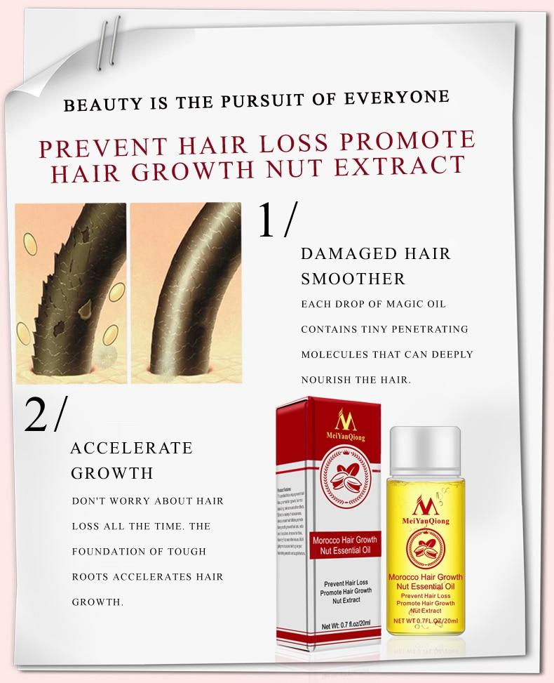 Premium Blend Natural Hair Growth Oil | Freaky Inventions