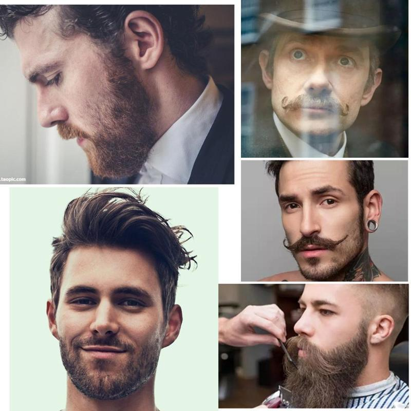7pcs Beard Grooming Kit Wax Removal | Freaky Inventions