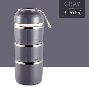 Thermal Stainless Steel Lunch Box | Freaky Inventions