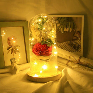 Enchanted  Rose Flower Lamp | Freaky Inventions
