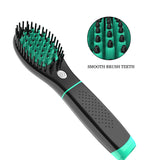 Professional wireless rechargeable Hair straightener brush Styling Tool