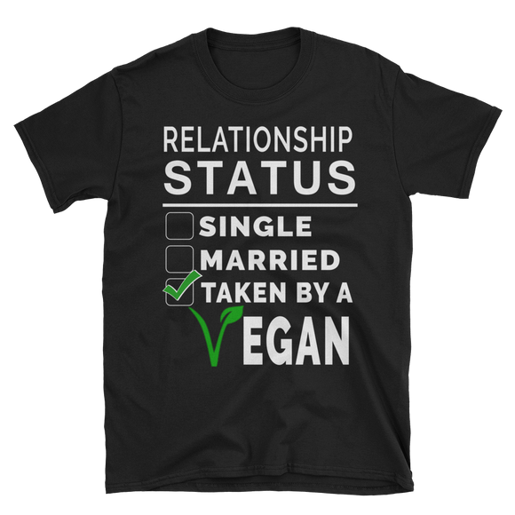 Vegan Relationship Status T-Shirt