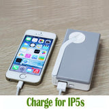 2200mAh Hand Crank Power Bank Rechargeable USB Phone Charger