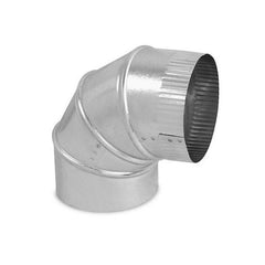 "Adjustable Elbow 8"" Galvanize"