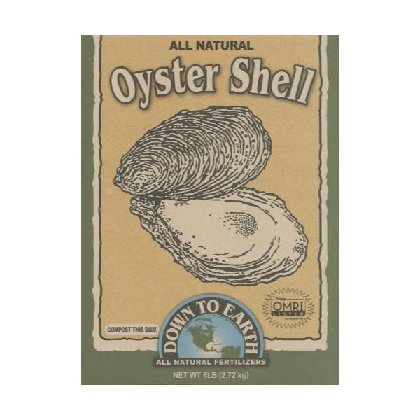 Down to Earth Oyster Shell, 6 Lb