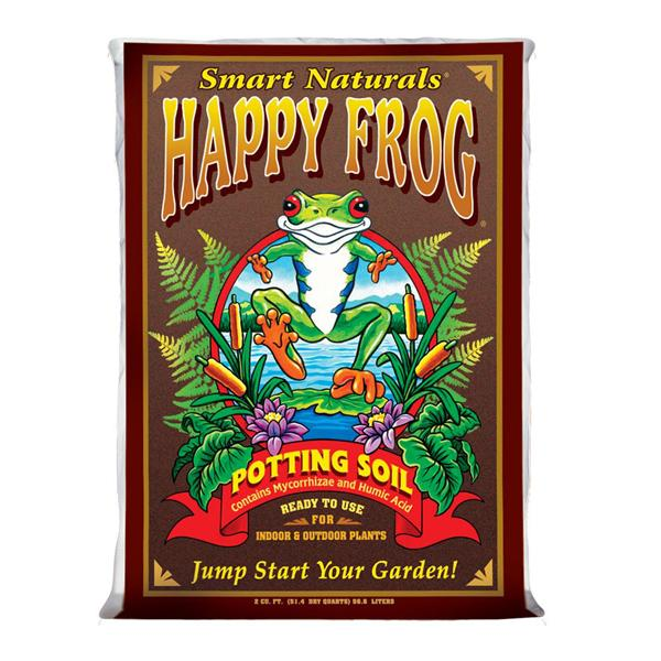 FoxFarm Happy Frog Potting Soil, 2 Cu Ft