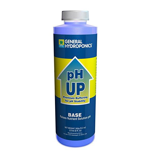 General Hydroponics pH Up, 8 Oz