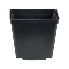 Kord Square Pot Black, 4""