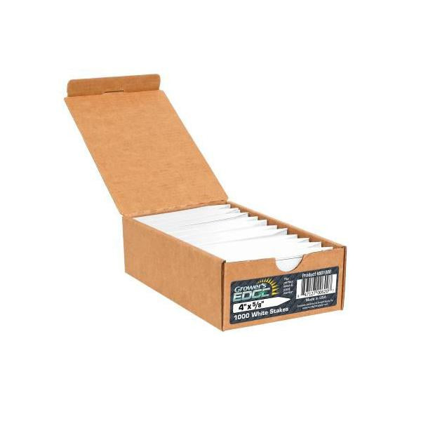 Plant Labels White, 100 Pack