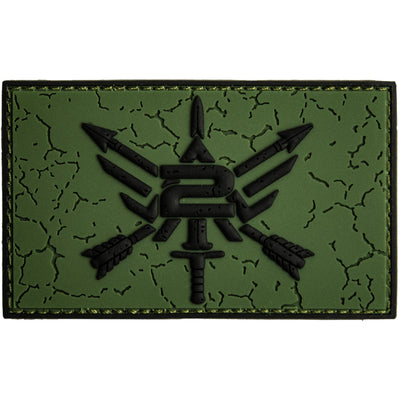 2ALPHA2QUIT LOGO PATCH Patch The Musa Store