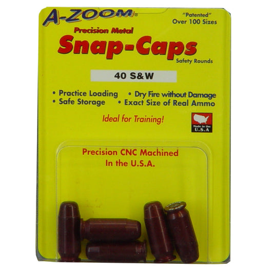A-Zoom Snap Caps 40 S&W 5-pk - The Musa Store