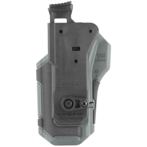 BLACKHAWK! Omnivore Multi fit Holster for Most Handguns with Rails Right Hand Level 2 Retention Grey-Black - The Musa Store