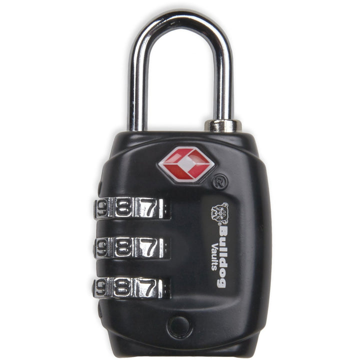 Bulldog Cases TSA Lock with Steel Shackle Black BD8020 - The Musa Store