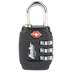 Fsdc 3-dial Tsa Combo Shackle Lock - The Musa Store
