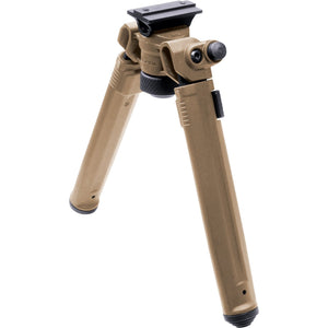 "Magpul Bipod for A.R.M.S 17S Style Mount 6.3""-10.3"" Adjustable Bipod 6061-T6 Aluminum Hard Coat Anodized-Injection Molded Polymer Flat Dark Earth Finish - The Musa Store"