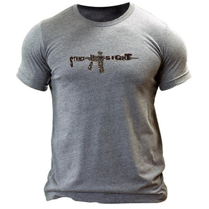 Rifle Fundamentals 2.0 T-Shirt Tri-blend - The Musa Store