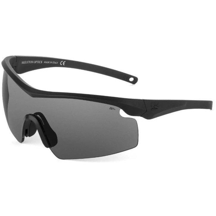 SO7 MILSPEC BALLISTIC GLASSES EYEWEAR Skeleton Optics GRAY