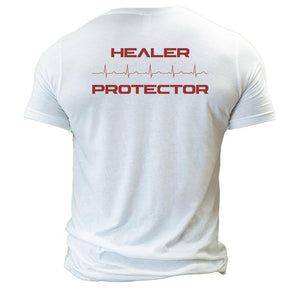 Trauma Healer Protector T-Shirt Tri-blend - The Musa Store