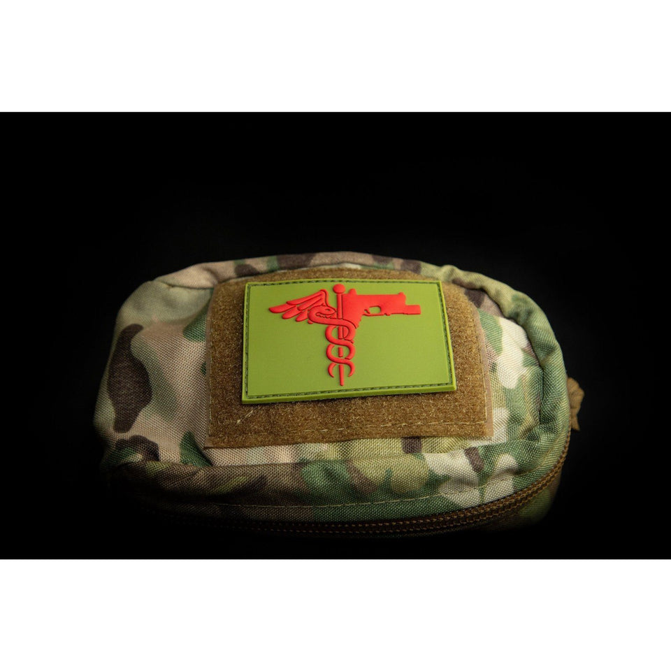 Trauma Logo Patch Patch The Musa Store CANTEEN GREEN