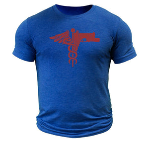 Trauma Medical Shooter T-Shirt Tri-blend - The Musa Store