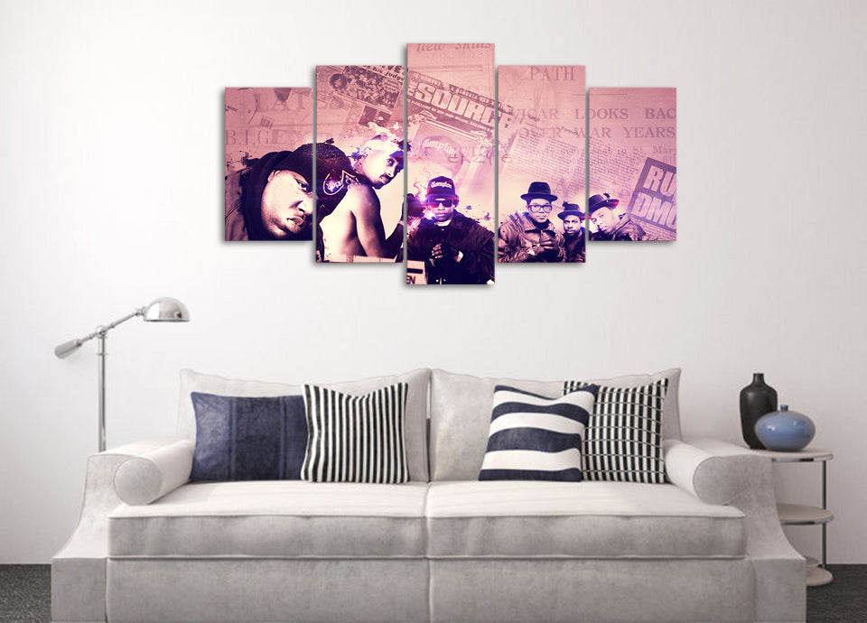 Printed Legends Wall Art