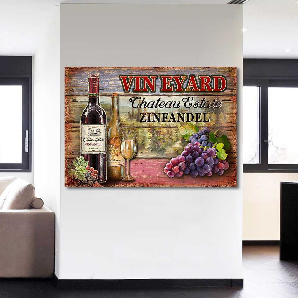 Grape Wine Wall Art