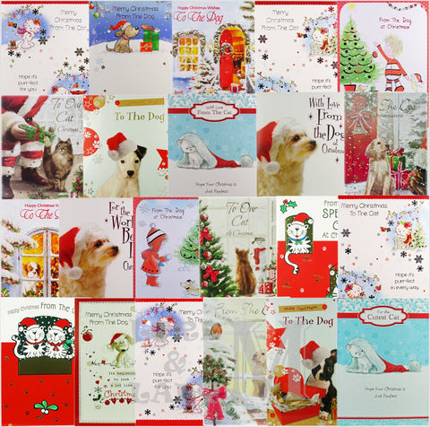 Pet Cards - To And From The Cat Or Dog