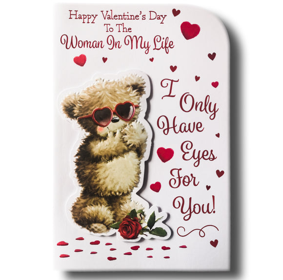 23cm - .. To The Woman In My Life - Bear Rose - BG