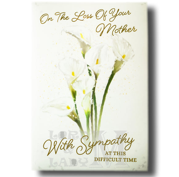 19cm - .. Loss Of Your Mother With Sympathy - BGC