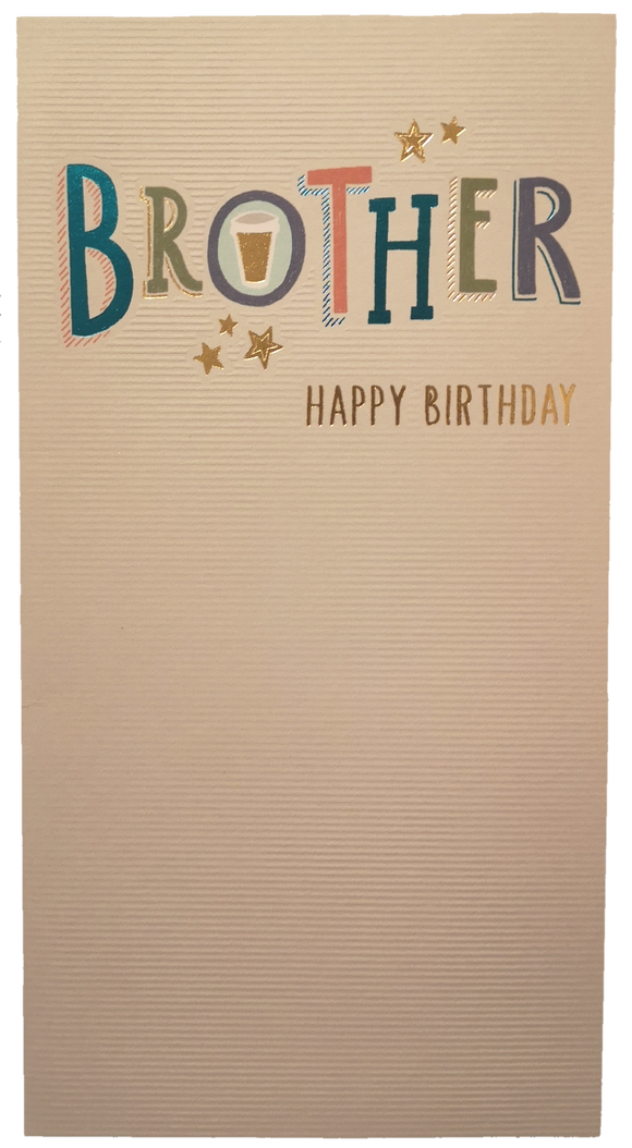 23cm - Brother Happy Birthday - ASD