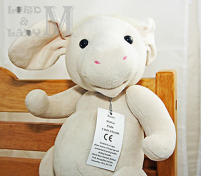 Charlie Bears Baby Boutique Collection - Wilbur Cow - Suitable for Newborn 0+