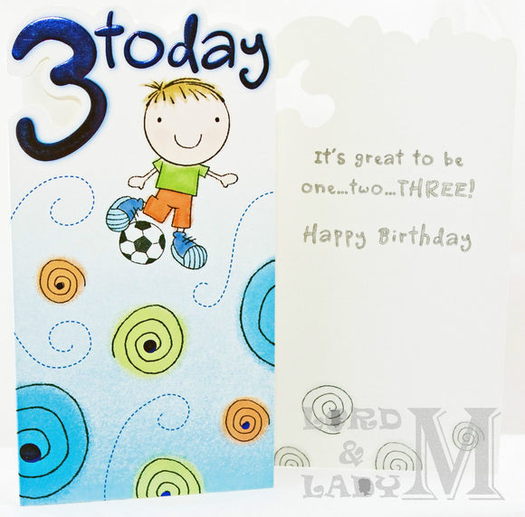 23cm - 3 Today - Boy Football - H