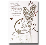 20cm - On Your Silver Anniversary With Cong..- CWH