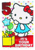 23cm - 5 Hello Kitty It's Your Birthday - BGC