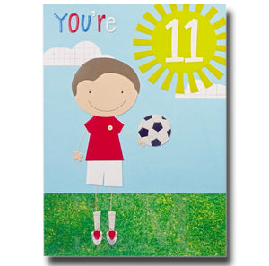 19cm - You're 11 - Football - E