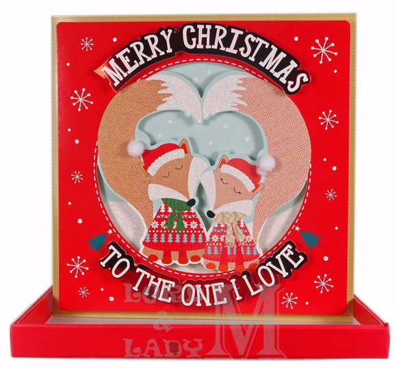 19cm Boxed - Merry Christmas To The One I Love -DG