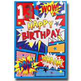 20cm - 13 Wow! Happy Birthday Pow! Whaam! - E