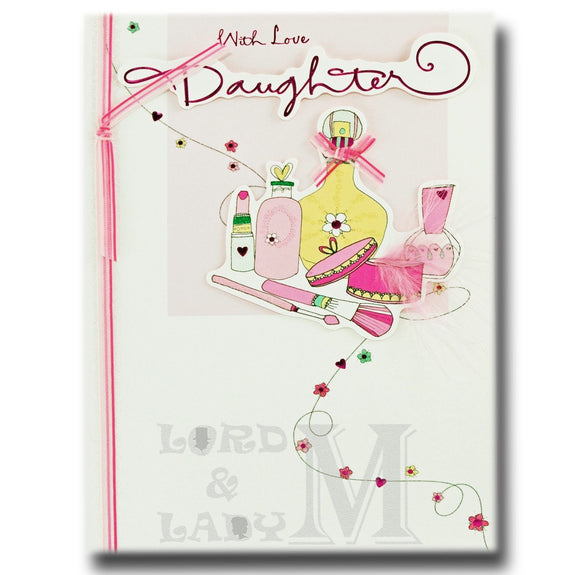 26cm - With Love Daughter - Lge Let - H