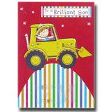 17cm - To A Brilliant Son - Tractor - P