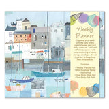 By The Sea Weekly Planner Organiser - Sticky Notes Memo Pad Weekly Notepad
