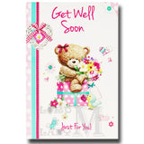 19cm - Get Well Soon Just For You! - CWH